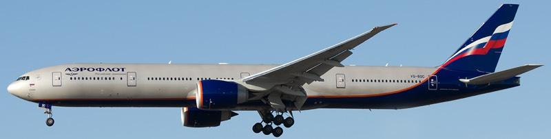 Boeing 777 - Pushkin