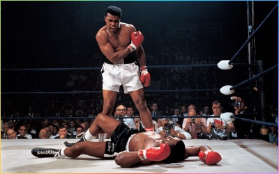 Ali - Liston Boxing