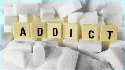 Sugar Addict Graphic