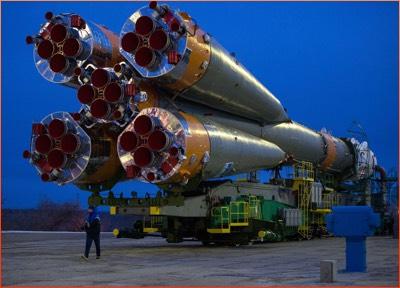 ISS bound rocket