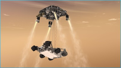 rocket powered skycrain