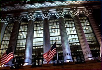 NYSE at Night