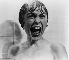 Woman Screams in Showers