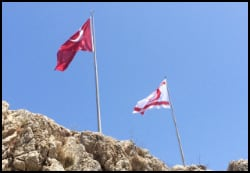TRNC & Turkish Flags