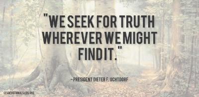 We Seek Truth