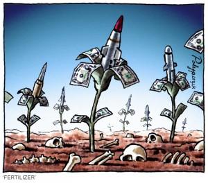 a rocket garden