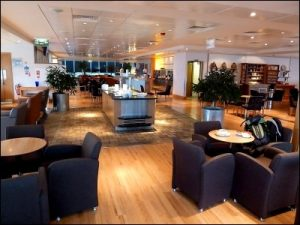 Lounge at Gatwick Airport