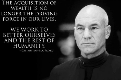 Jean Luc Picard Quote