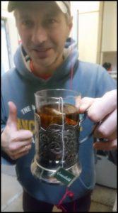 Sergey and Hot Tea