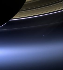 Cassini/Saturn Pale Blue Dot