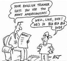 American and UK English Cartoon
