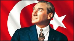 Ataturk, founder of Turkey