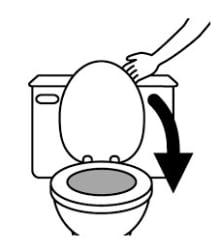 Toilet Seat Cartoon