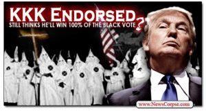 Trump and KKK