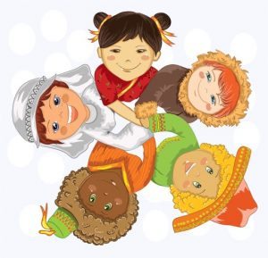 Children from Various Nations