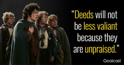 A quote from Lord of The Rings