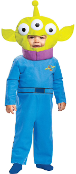Child in Alien Costume