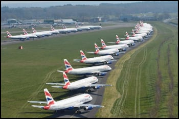 British Airways Parked Jets