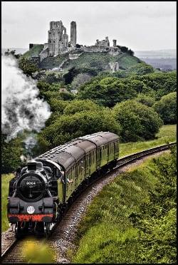 Railway Corfe Castle