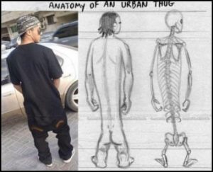 Saggy Pants Thug