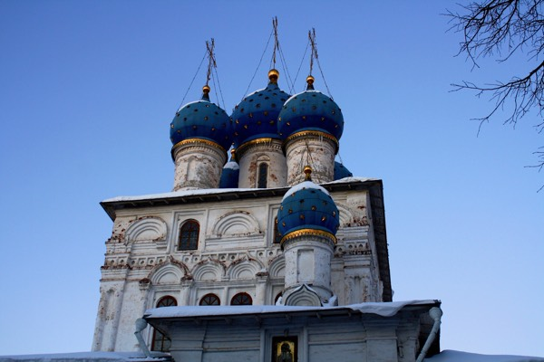 Church in Park - Moscow