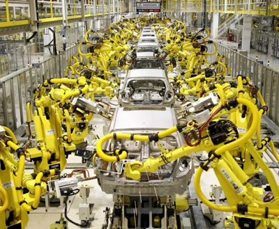 Robots Mfg Cars