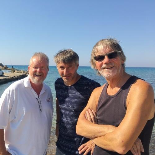 The Boys... Roger, Sergey, & Dean