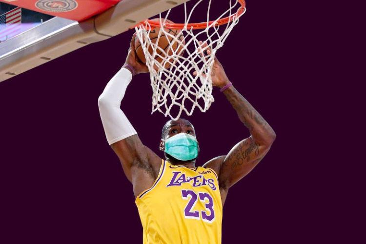 NBA Lakers Dunk