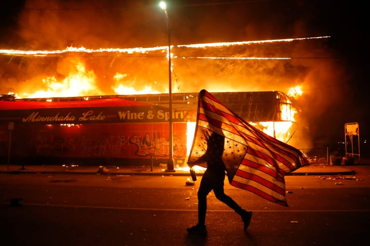 Riots in US