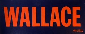 George Wallace bumper sticker