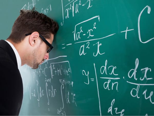 Teacher with problem