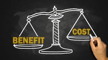Cost vs. benefits