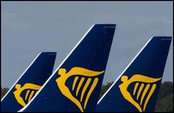 Ryanair Tailfins & Logos