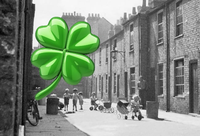 Lucky in UK in 1950