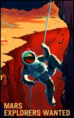 Mars Recruiting Poster